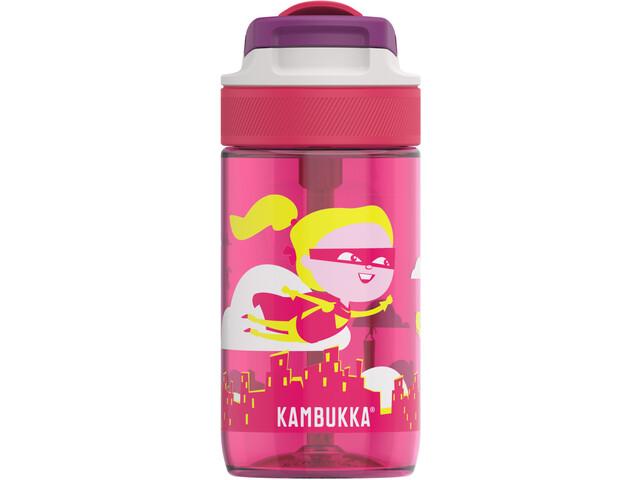 Kambukka Lagoon Bottle 400ml Kids flying supergirl
